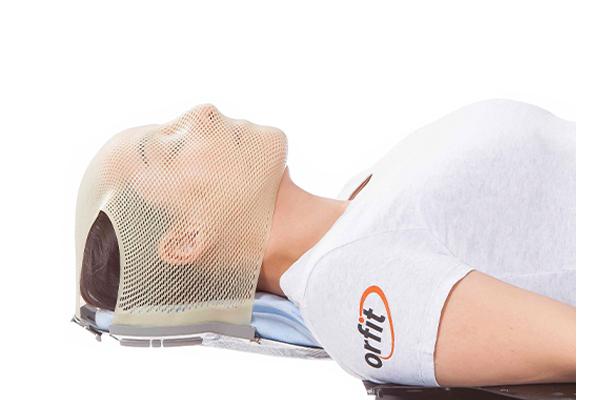 Nanor proton therapy head mask