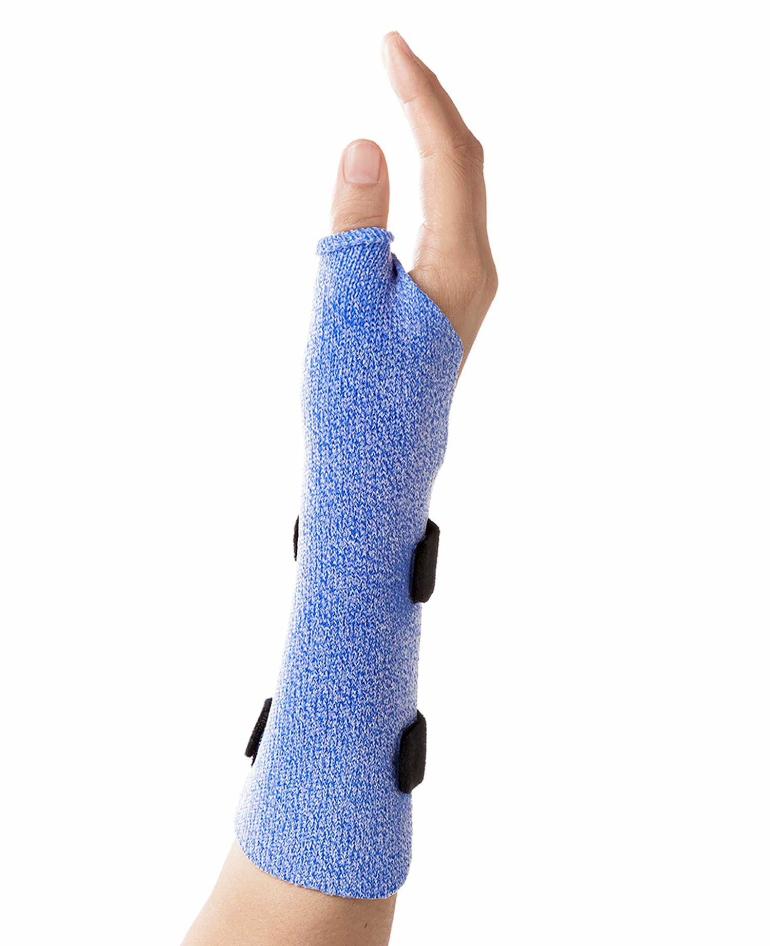 Long opponens orthosis in Orficast